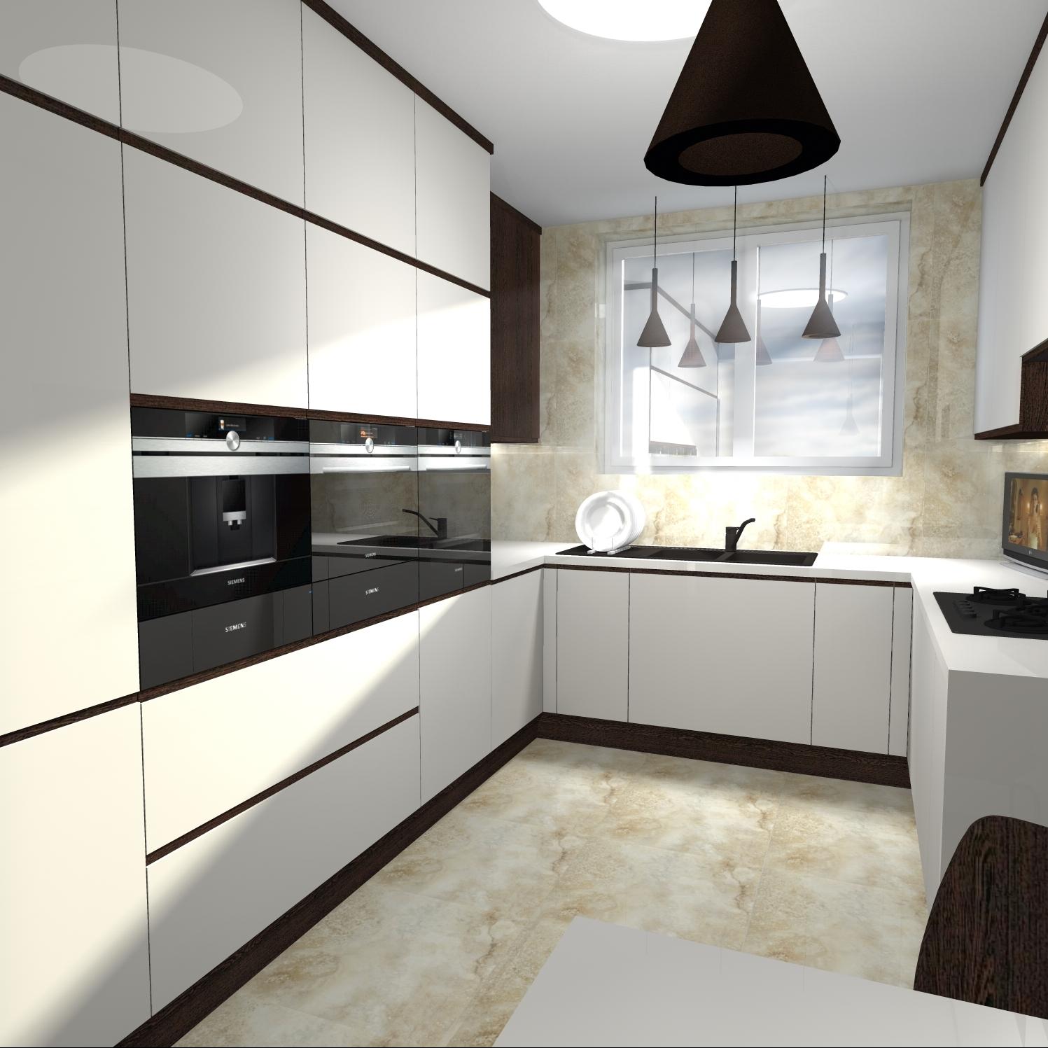 projekt kuchni w domu jednorodzinnym atelier lillet