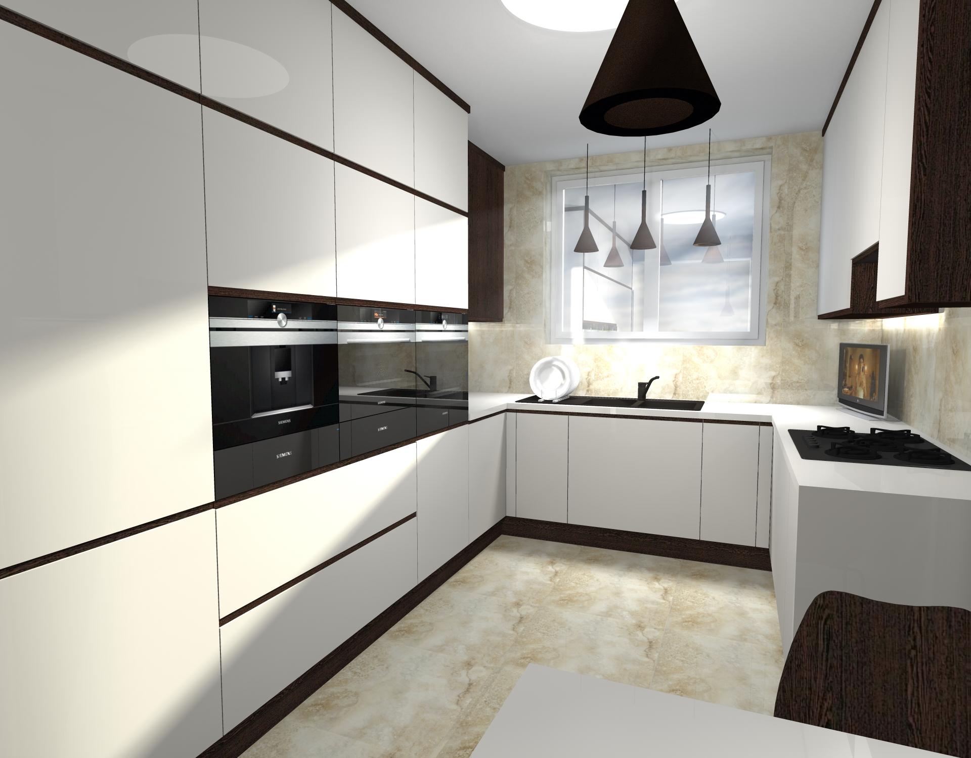 Projekt Kuchni W Domu Jednorodzinnym Atelier Lillet Projektowanie