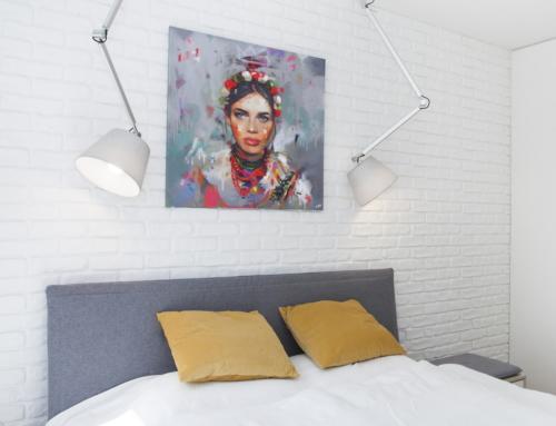 Reportaż fotograficzny wnętrza mieszkania w Szczecinie
