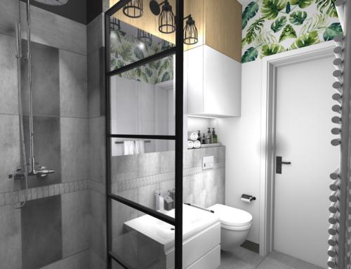 Koncepcja liftingu męskiej łazienki