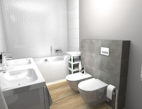 Łazienka z wanną w Grzepnicy