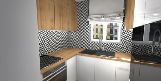 Białe Fronty W Kuchni Atelier Lillet Projektowanie Wnętrz